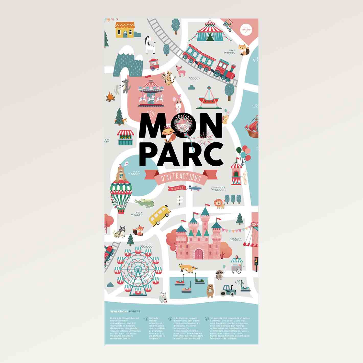 Poster Evolulu Mon Parc d'Attractions